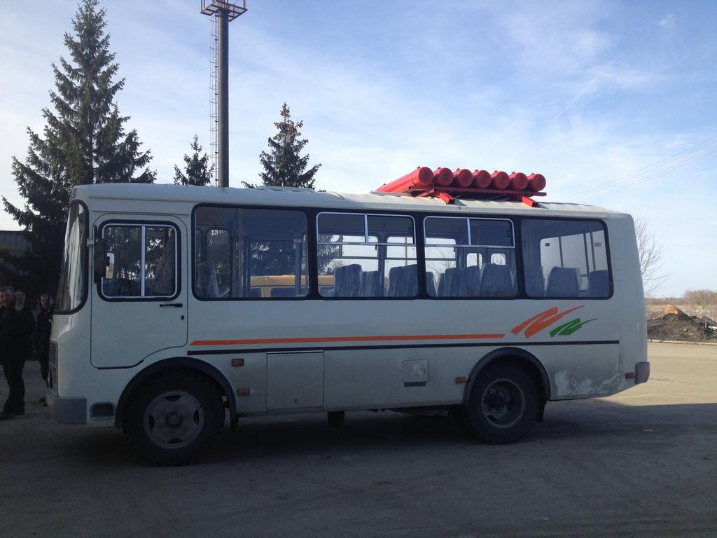 автобус паз с газовым оборудованием
